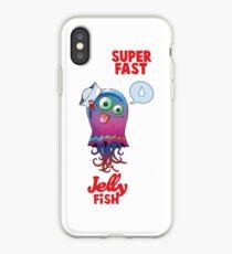 Superfast Jellyfish iPhone Case