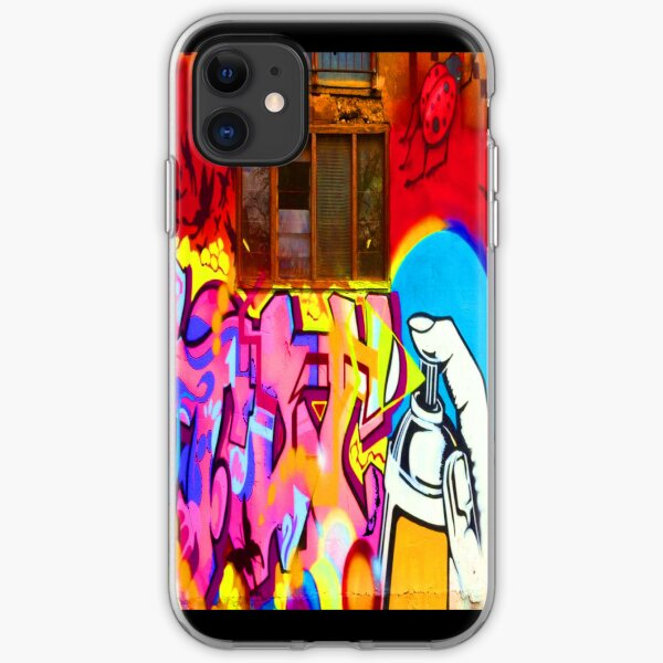"""Spray Me"" - phone iPhone Soft Case"