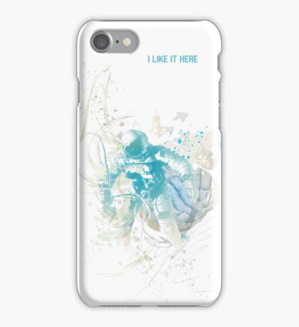 I like it here iPhone Case/Skin