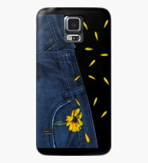 """""""Blue Jeans and Calendula"""" - phone Case/Skin for Samsung Galaxy"""