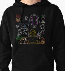 Ghibli mix v2 Pullover Hoodie