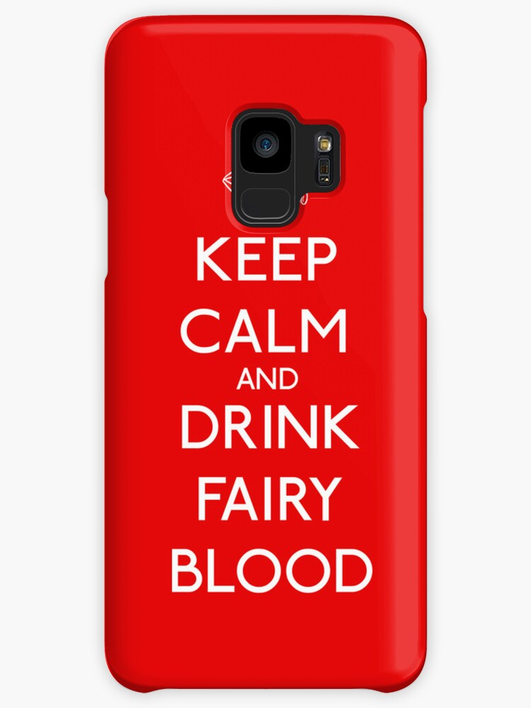 Keep Calm and Drink Fairy Blood by weRsNs