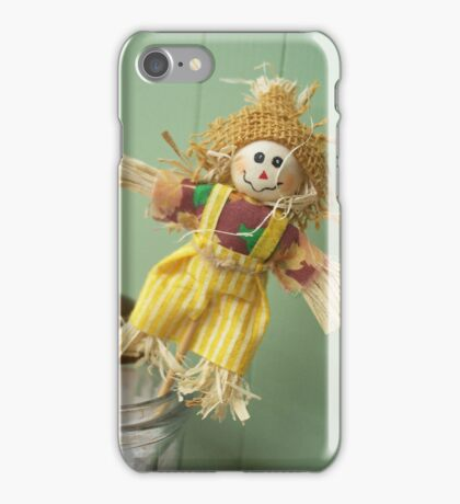 Straw Man iPhone Case/Skin