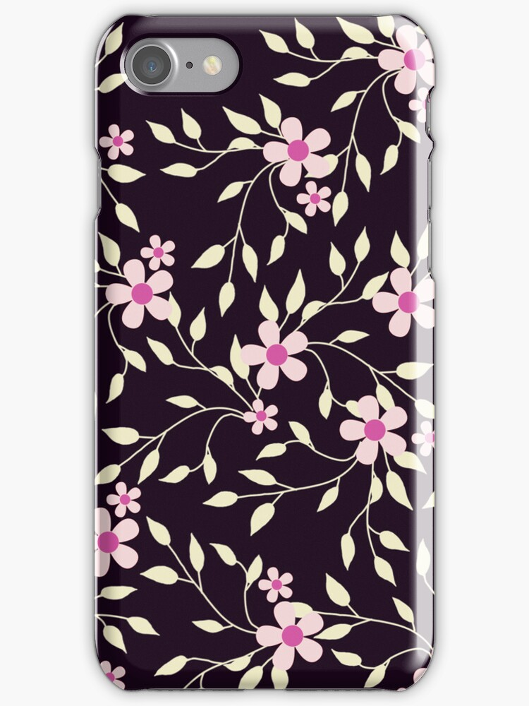 Playful Pinkies iphone case 4S & 4 by red addiction