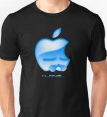 Apple I-Lone Blue Unisex T-Shirt