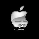 Apple I-Lone White by Saing Louis