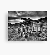 goldrush shadows Canvas Print