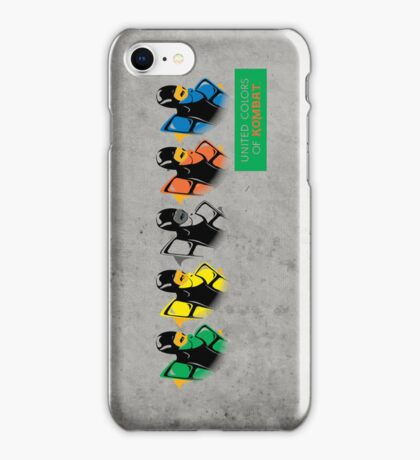 United colors of Kombat iPhone Case/Skin