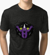 Purple People Eater Tri-blend T-Shirt