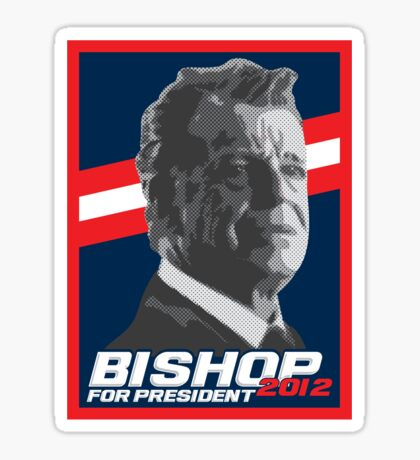 Bishop 2012 Sticker