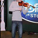 The Violinist by Michael Degenhardt