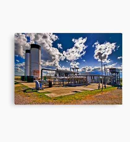 Flare Station Canvas Print