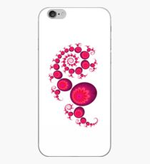 Pink paisley for white Iphone 4 and 4s iPhone Case