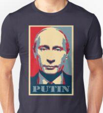 Vladimir Putin, obama poster Unisex T-Shirt