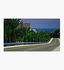 somewhere in nerja Photographic Print