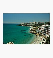 nerja beach Photographic Print