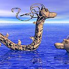 Serpentine Mud Dragons by Ann Morgan