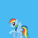 Rainbow Dash (iPhone Case) - My Little Pony Friendship is Magic by DarkArrow