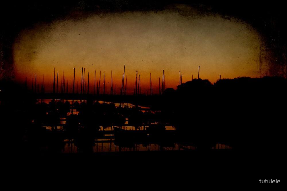 Yachts, Sunset by tutulele