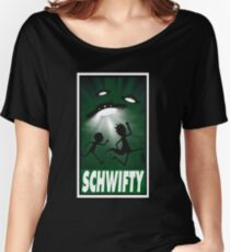 schwifty  Women's Relaxed Fit T-Shirt