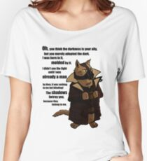 Bane's Cat Rises! Women's Relaxed Fit T-Shirt