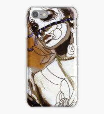 pearl necklace iPhone Case/Skin
