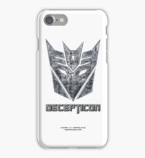 Decepticon v1 iPhone Case/Skin