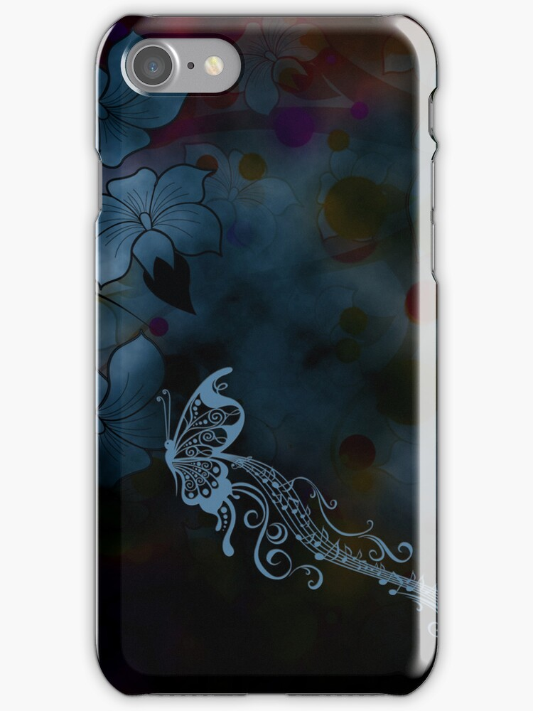 Musical Flight (iPhone case) by Maria Dryfhout