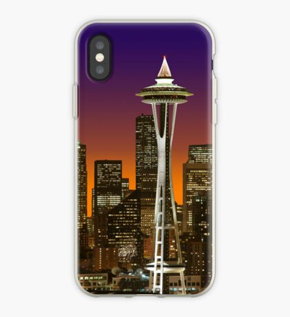 The Glow Of Seattle iPhone case. iPhone Case
