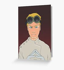 Dr Horrible Greeting Card