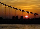 Bridge at Sunset by Themis