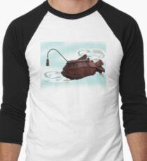 Steampunk Angler Fish Men's Baseball ¾ T-Shirt