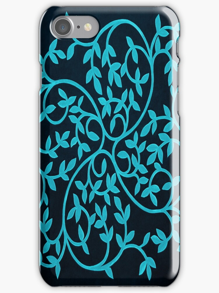 Celtic Inspiration Teal by Herb Dickinson