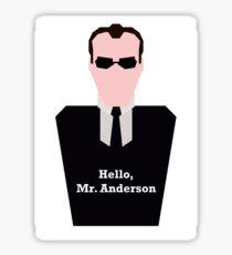Agent Smith Sticker