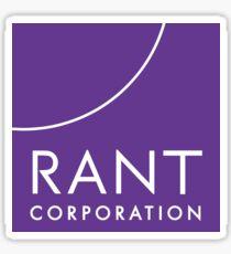 RANT Corporation Sticker