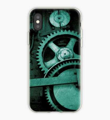 iPhone Case - Bolts and Rivets (Green) iPhone Case