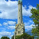Madison, Wisconsin historic water tower by Sue Justice