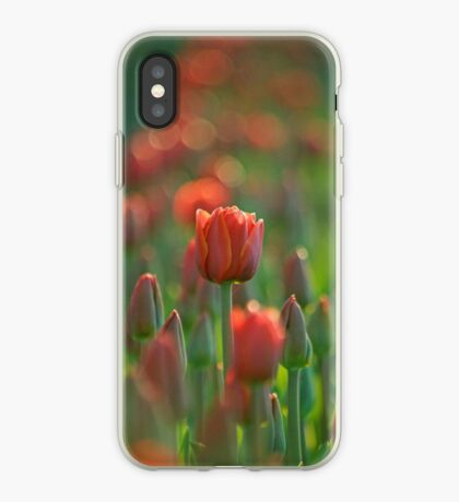 A Morning At The Field iPhone case.  iPhone Case