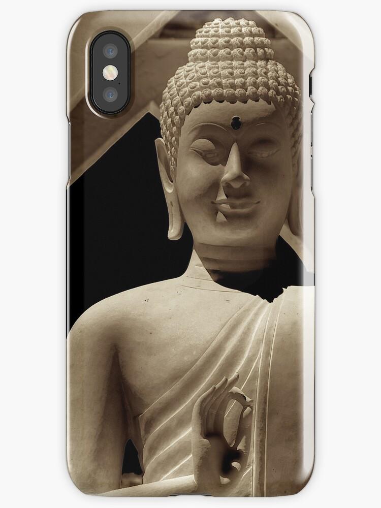 VitkaraBuddha case for iPhone by Bill Wetmore