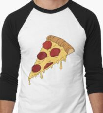 34b07652 Pizza Slice Baseball ¾ Sleeve T-Shirt