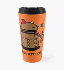 Exterminate or Treat - Full Color Travel Mug