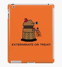 Exterminate or Treat - Full Color iPad Case/Skin