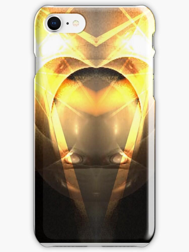 Alien iPhone Case by judygal