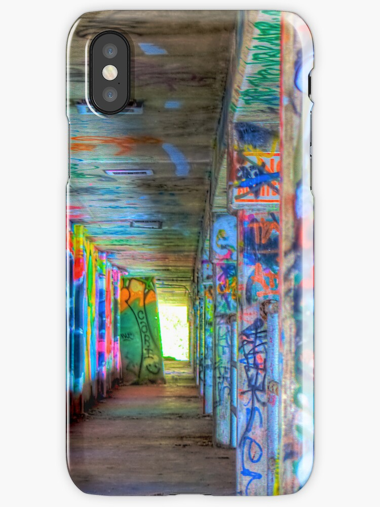 Under the Miami Marine Stadium case for iPhone 4/4S by Bill Wetmore