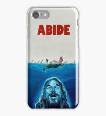 The Big Lebowski Abide Jaws iPhone Case/Skin