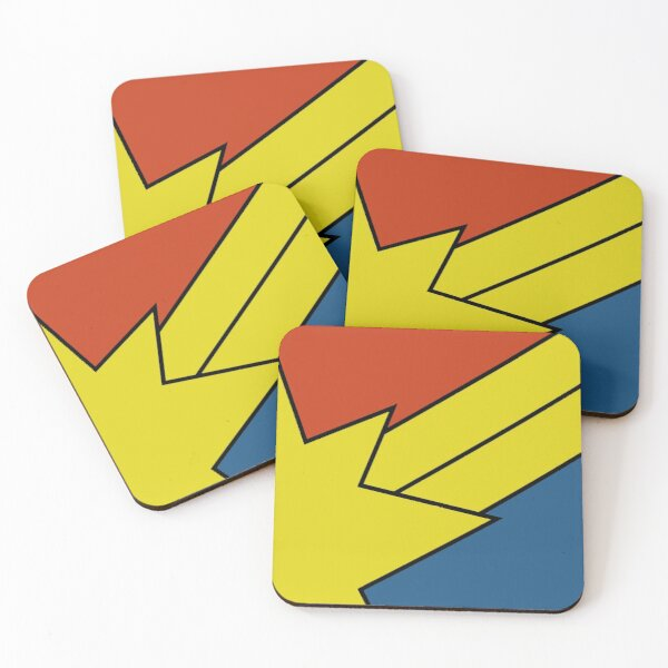 inspired by a comic cover Coasters (Set of 4)