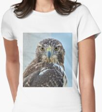 Red Tailed Hawk Close Up T-Shirt