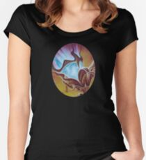 Night Light Women's Fitted Scoop T-Shirt