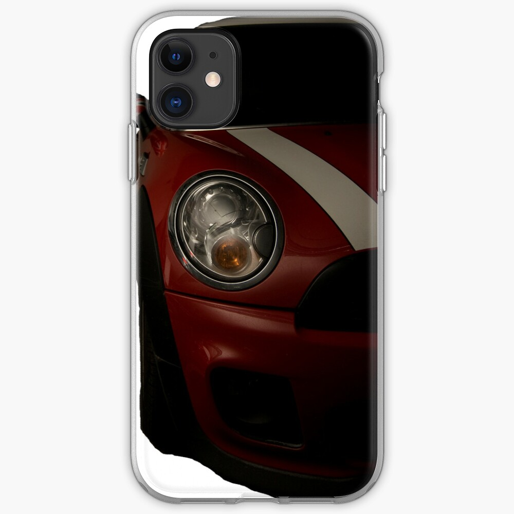 Mini Cooper S iPhone Soft Case