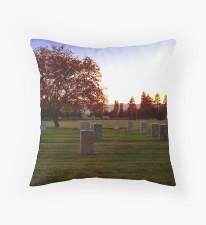 Heroes' Rest Throw Pillow